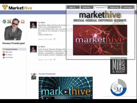 MarketHive  The  Social  Neural  Network   YouTube 360p