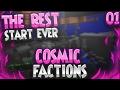 SUPER LUCKY START! 🍀   Minecraft FACTIONS #1 (CosmicPvP Pleb Planet S2)