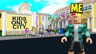 i-found-a-kids-only-city-cops-arrested-the-leader-roblox-bloxburg