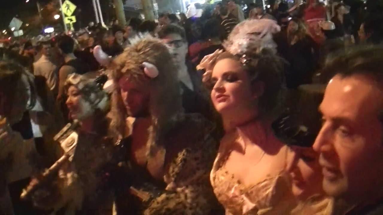 los angeles, - west hollywood ,halloween ,parade, santa monica 2016