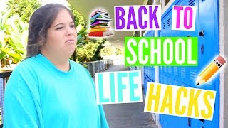 Back to School LIFE HACKS Everyone Should Know!