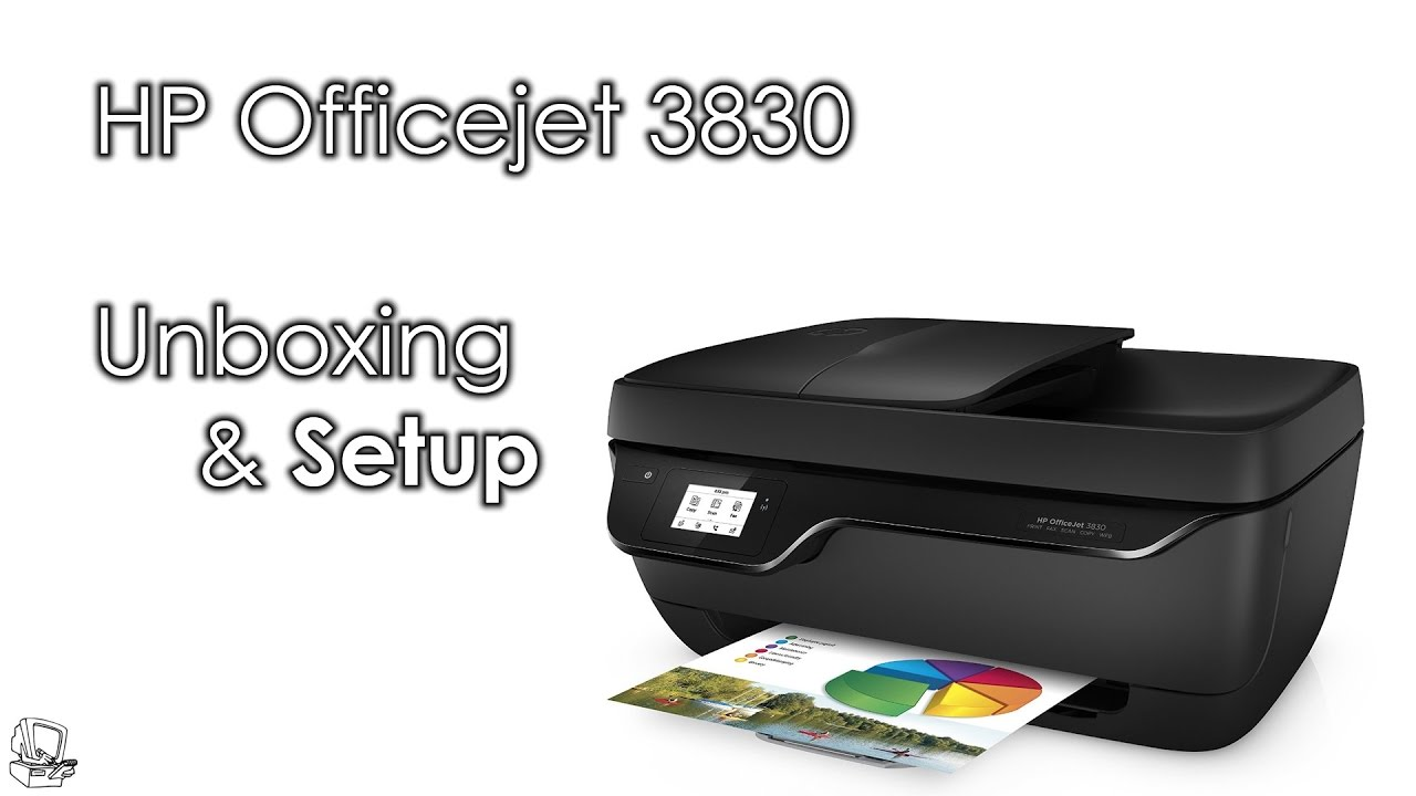 UnboxIT: HP Officejet 3830 Unboxing