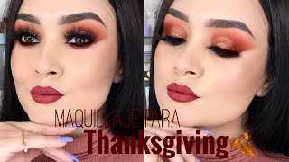 Maquillaje Para el Dia de Accion de Gracias | Thanksgiving | Monika Sanchez