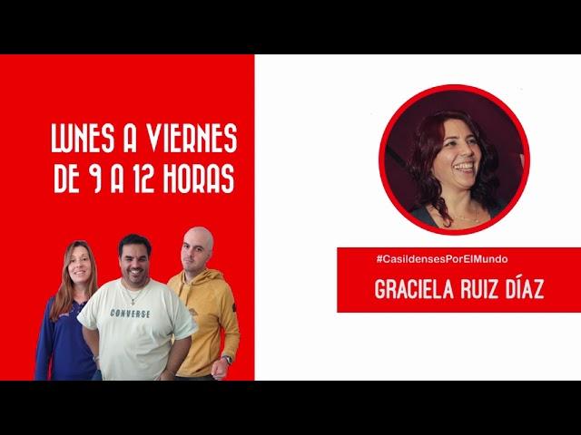 Casildenses por el Mundo: Graciela Ruiz Díaz