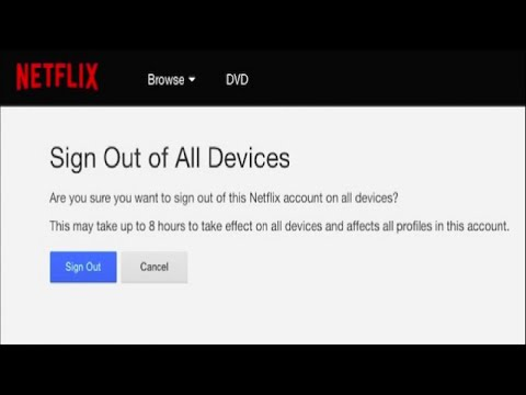 How to Log Out of Your Netflix Account on Every Device That's Using It