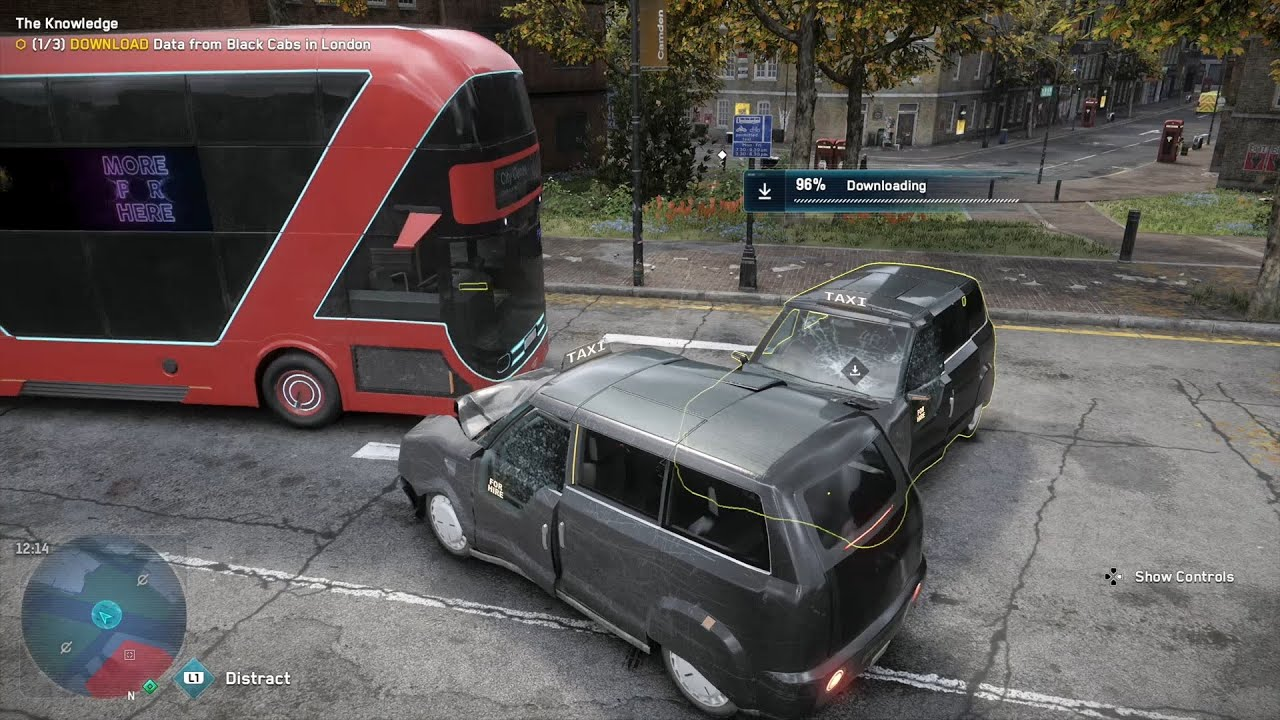 Let's Play Watchdogs Legion; Part 17: Black Cabs