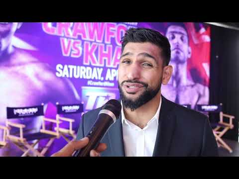 'KELL BROOK KILLED THE FIGHT HIMSELF' -AMIR KHAN (IN NY) - CRAWFORD, EDDIE HEARN, SLAMS FROCH/FEARON