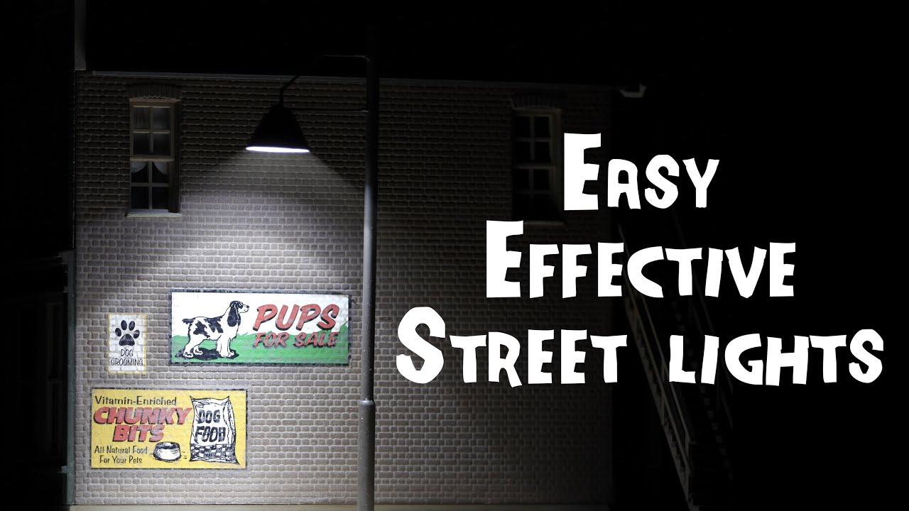 Wiring Ho Street Lights Data Diagrams A Model Railway Working Scale Youtube Rh Com