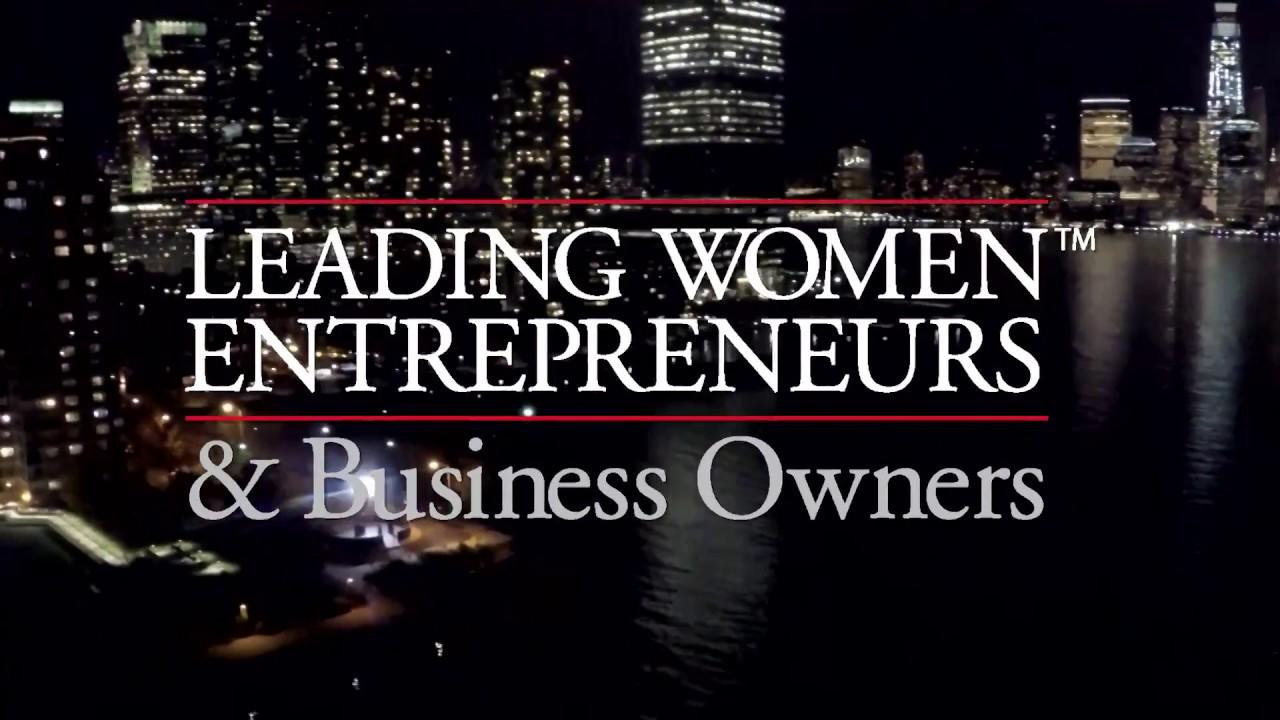 Leading Women Entrepreneurs: 2016 Top 25 Recognition Event (Celebrating The Unstoppable)