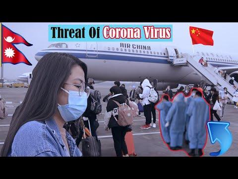 Threat Of Corona Virus In China / Back To Nepal / Part 1 / Chris Gurung