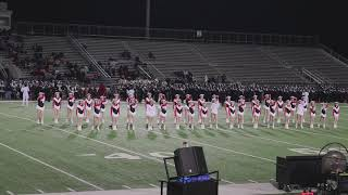 2018/11/09 - CHS Lariettes - Football vs Nimitz