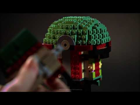 Star Wars - LEGO Boba Fett Helmet - Video