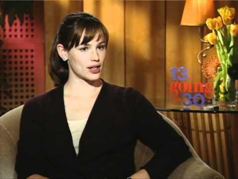 Jennifer Garner Interview (13 Going On 30)
