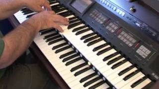 "Gene Roberson plays ""You Raise Me Up"" on the Roland Atelier"