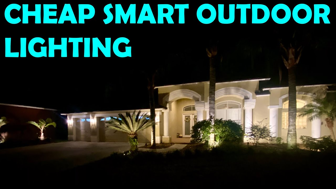 cheap smart update to new or existing outdoor lights skill level 1 beer