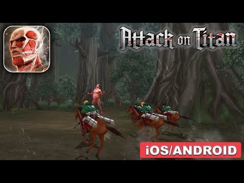 ATTACK ON TITAN - ANDROID / IOS GAMEPLAY
