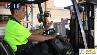 Forklift Training Course - Running Check