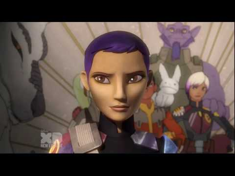 Ahsoka & Sabine meet again after the battle of Endor - Star Wars Rebels Finale