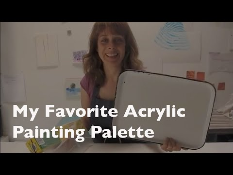 How To Save Acrylic Paint For Re Use