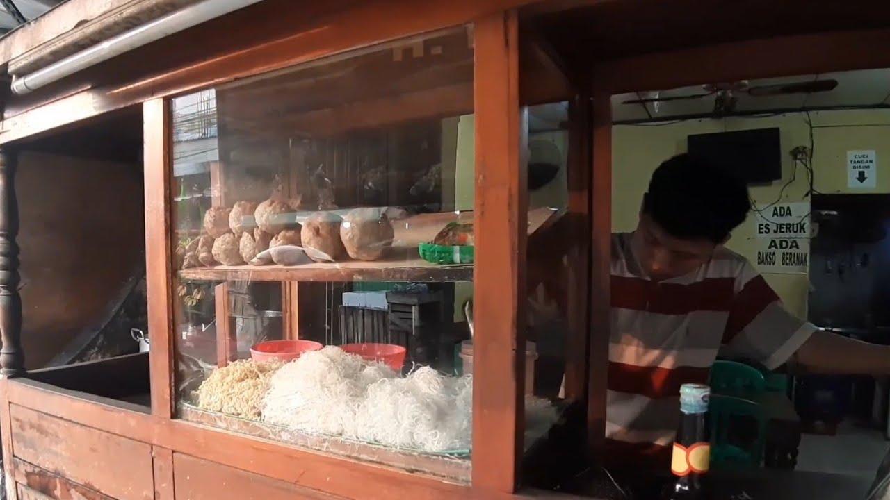 BAKSO RUDAL & BAKSO BERANAK PINAK WONOGIRI SEBESAR BOLA TENIS !! INDONESIAN MEATBALLS STREET FOOD