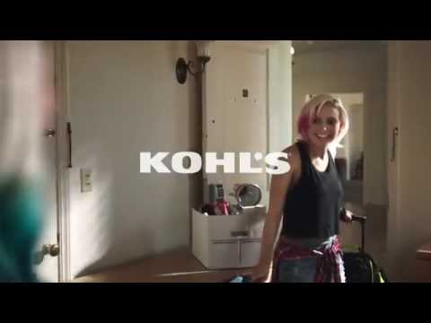 Kohl s What Will Your Dorm Say About You tv commercial ad 2015 HD • advert e186061281492