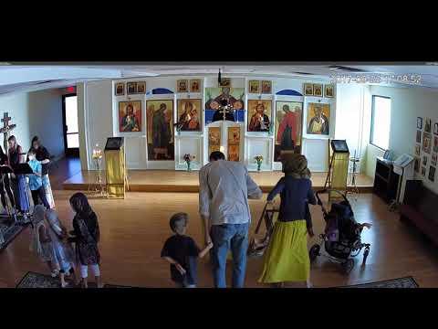 Feastal Great Vespers Parish Feast St  John Sept 23rd 2017