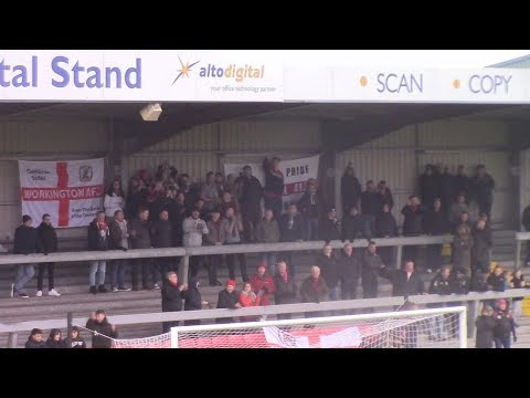 WESTON SUPER-MARE VS WORKINGTON REDS FA TROPHY MATCHDAY HIGHLIGHTS!!!
