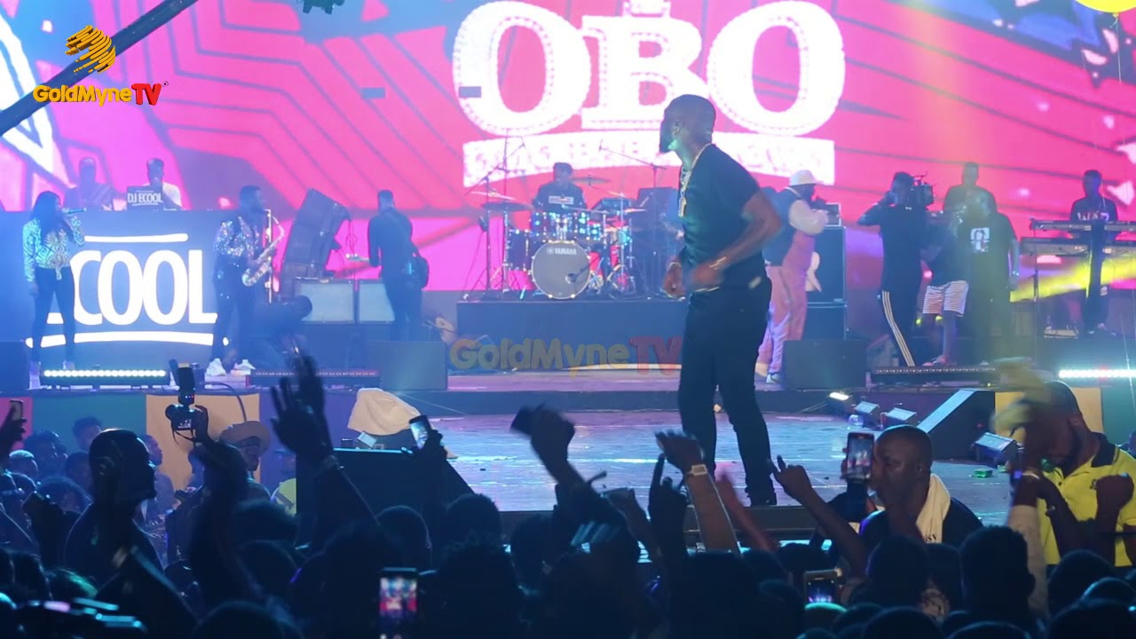 DAVIDO STILL GOT THIS ENERGY ANYTIME FOR HIS FANS AT HIS CONCERT 'A GOOD TIME'