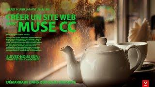 Tutoriel Muse CC : Comment créer un site Web | Adobe France