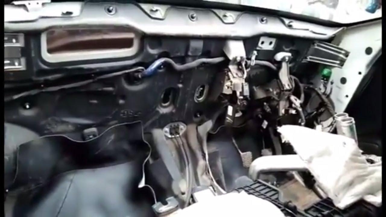 hyundai i20 dashboard removal and install