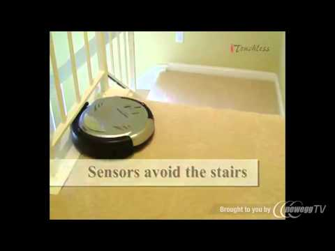 iTouchless AV002A Robotic Intelligent Automatic Vacuum Cleaner PRO - Product Tour