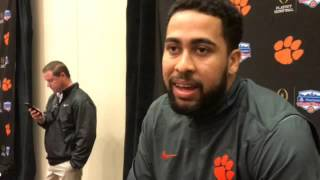 Clemson tight end Jordan Leggett talks facing Ohio State