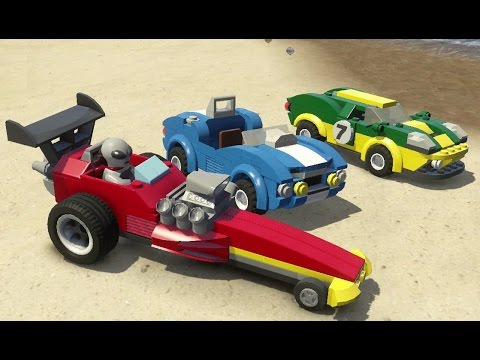 Lego City Undercover Ps4 All Performance Vehicles In Action Vehicle Showcase Youtube