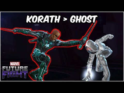Korath The Pursuer EASILY Replaces Ghost! Captain Marvel Update - Marvel Future Fight