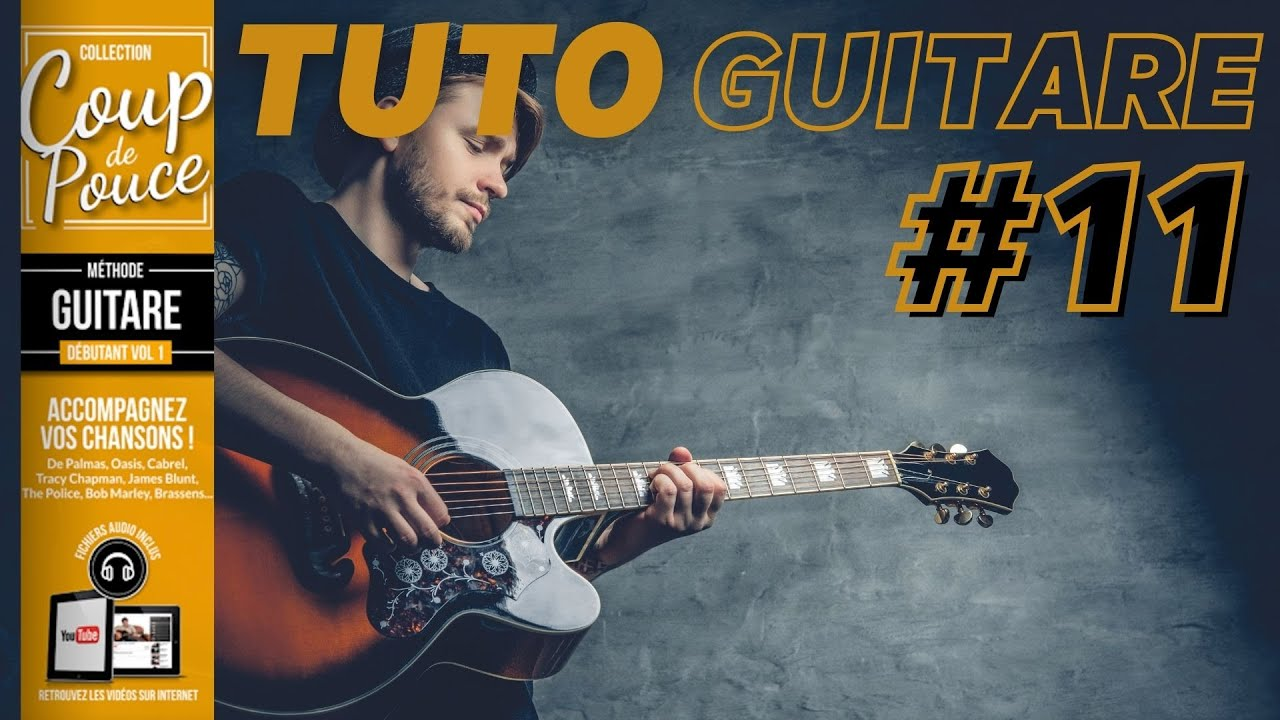 Cours de guitare - Arpèges + Accords vidéo N°2 - YouTube