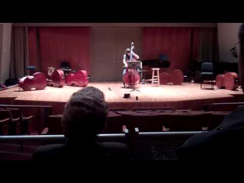 Aspen 2016 double bass audition - With Loop Control - YouTube for