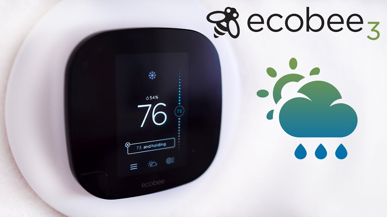 Ecobee3 The Best Smart Thermostat Nest Killer Youtube