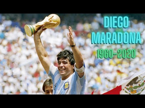 Diego Maradona Skills & Goals    Hand of God    Must watch