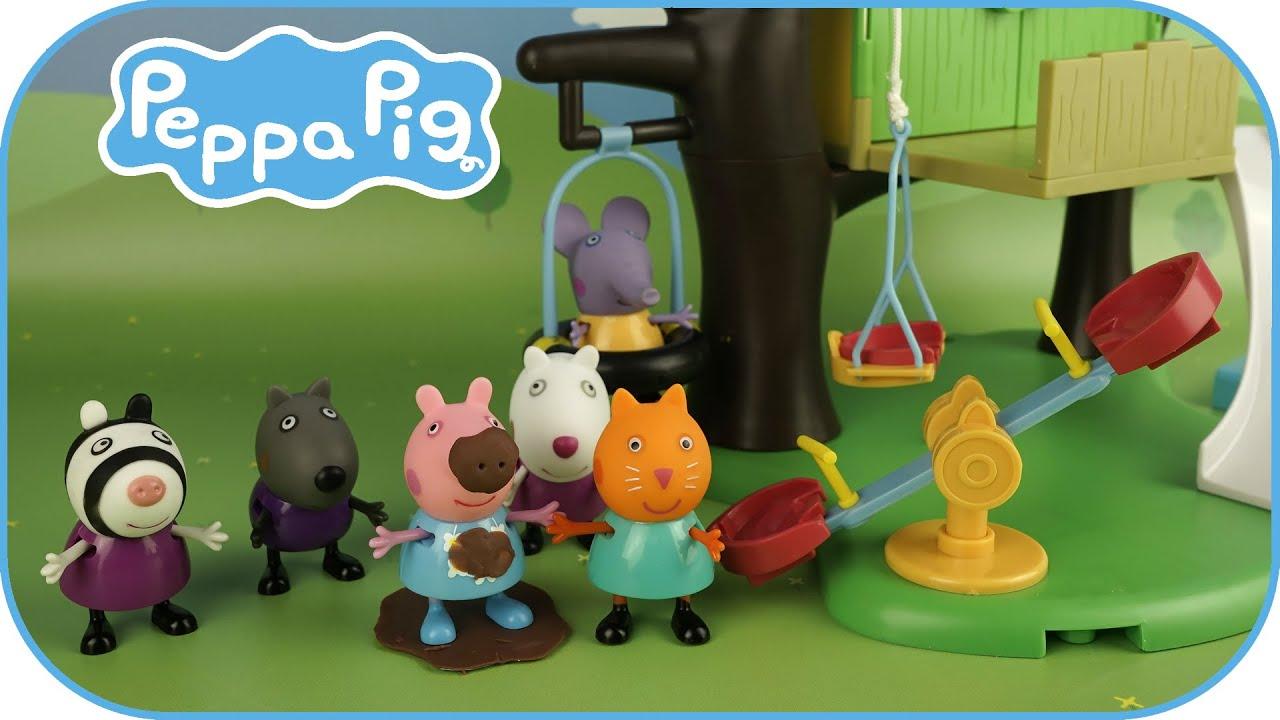 Смотреть видео про игрушки свинку пеппу