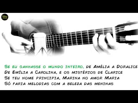 Meninas do Brasil - Moraes Moreira - Karaokê Violão