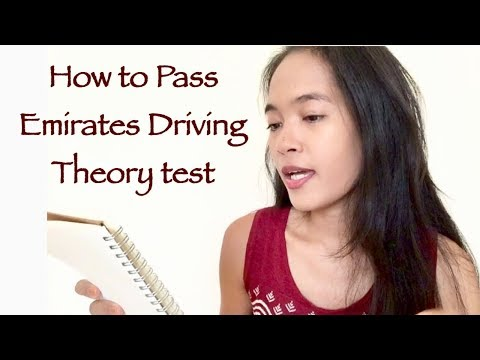 HOW TO PASS EMIRATES DRIVING THEORY TEST | 10 TIPS