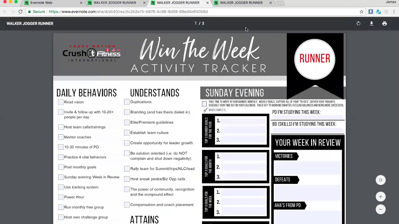 explaining the walker jogger runner wotw daily activity trackers