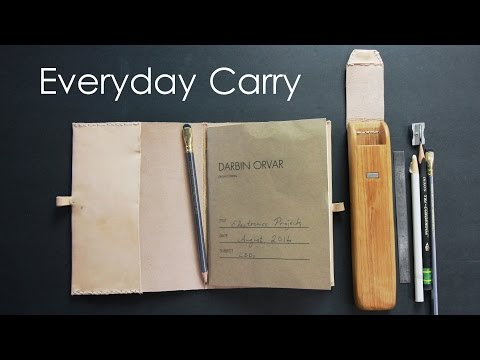 DIY Notebook & Pencil Case #EDC
