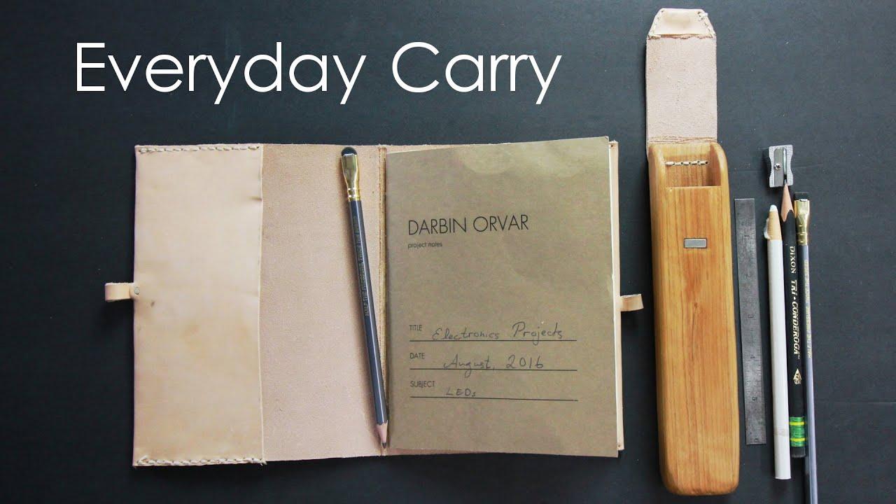 Diy Notebook Amp Pencil Case Edc Youtube