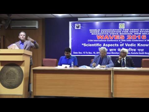 "Session on ""Sanskrit Studies & Modern Life"" and Poster Session, WAVES 2016"