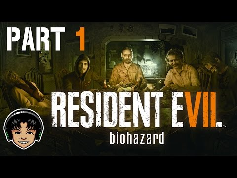 RESIDENT EVIL 7 Part 1 - Look Me In The Eyes! - Let's Play