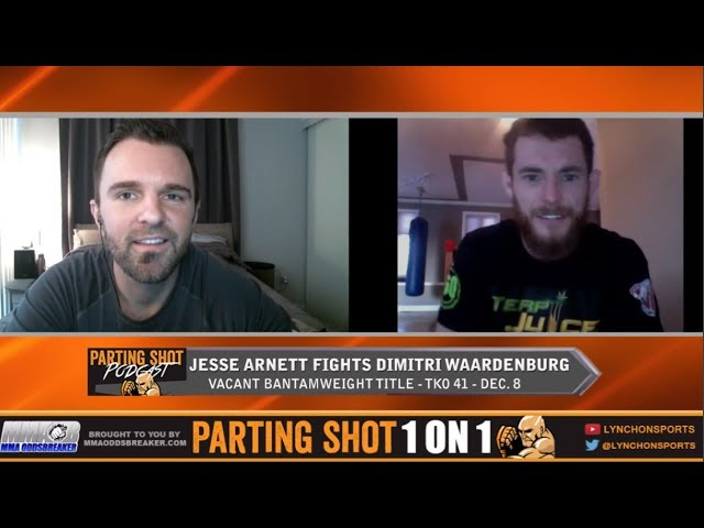 TKO 41's Jesse Arnett talks title fight rematch against Dimitri Waardenburg