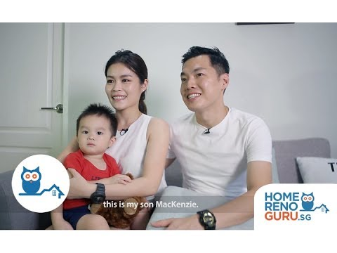 Dream Home of Vincent & Anna - U-Home Interior Design【HomeRenoGuru.sg】