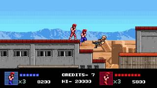 Double Dragon IV Two-Player Playthrough (Switch)