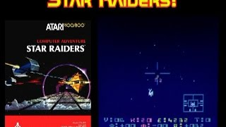 Favorite Atari 8 Bit games of Willie! Star Raiders!